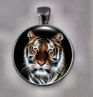 Tiger Necklace,  Tiger Pendant,  Tiger Jewelry, Animal Pendant