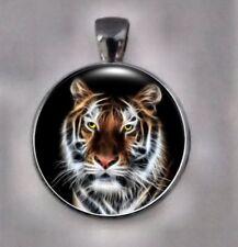 Tiger Jewelry, Animal Pendant Tiger Necklace, Tiger Pendant,