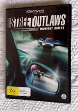 Street Outlaws - Midnight Riders (DVD, 2-Disc) R-4, LIKE NEW, FREE POST AUS-WIDE