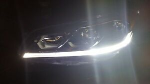 OEM LH Headlight Head Light 2016-2017 Honda Accord Sedan Halogen Nice Good LED