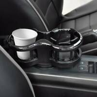 Car Seat 2 Cup Holder Drink Beverage Coffee Auto Truck Bottle Mount Universal