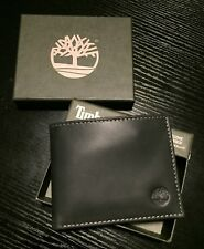 100% Authentic Timberland Bifold Card Wallet Black