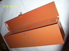 "ALLIS CHALMERS D 17 D 19 - 220  TRACTOR TOOL BOX  & COVER - 21 1/4 "" LONG - NEW"