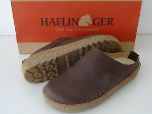 HAFLINGER TRAVEL CLOG NEO 40/L 9 New! Brown