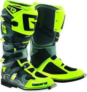 *FREE SHIPPING* GAERNE SG-12 YELLOW HI-VIS BOOT PICK YOUR SIZE
