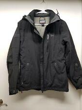 Outdoor Research Mens Hooded Jacket Size XS/XP Windbreaker Black