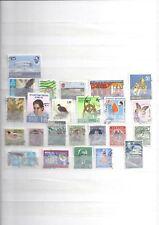 TIMBRES - SRI LANKA/CEYLAN - lot de 24 timbres oblitérés