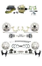 GM 1959-64 Front & Rear High Performance Power Disc Brake Conversion Kit