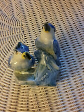 Stangl Pottery Bird, Double Kingfisher