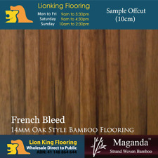 French Bleed Strand Woven Bamboo Flooring Timber Floating Floor Floorboards