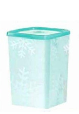 Tupperware Freeze-It Tall Square Round 6 cup Freezer Container NEW