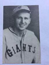 1973 Sports Scoop Jim Rowe Postcard Baseball Card Fred Windstorm Giants EX/MT