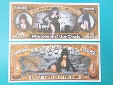 ELVIRA: Mistress of the Dark (Cassandra Peterson) $1,000,000 One Million Dollars