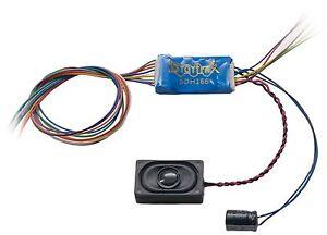 Digitrax SDH166D Sound Decoder 8 Bit with Speaker HO Scale Bob The Train Guy