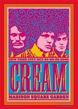 Cream Eric Clapton Madison Square Garden Poster John Van Hamersveld Signed