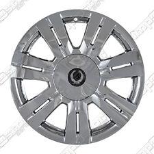 "Chrome Wheel Skins / Hubcaps + Center Caps FITS Cadillac SRX w/ 18"" ALLOY wheels"