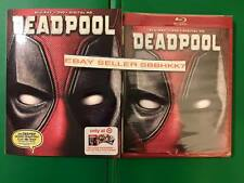 Deadpool Target Exclusive Blu Ray + DVD + HD RED CASE 100% MINT SLIPCOVER New