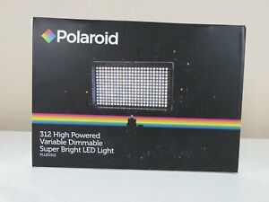 NEW POLAROID PLLED312 312-LED LIGHT (MB1018053) Dimmable