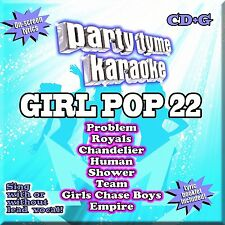 Party Tyme Karaoke: Girl Pop, Vol. 22 by Karaoke (CD, Sep-2014, Sybersound Recor