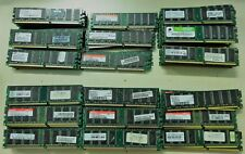 STOCK 18 PEZZI RAM SDRAM PC100 100mhz CAPACITA 32MB 64MB 128MB 256MB 512MB APPLE