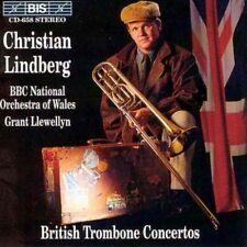 Christian Lindberg - British Trombone Concertos CD Bis
