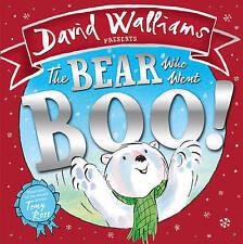 The Bear Who Went Boo! - New Book Walliams, David