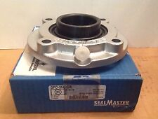 """SFC-35C CR SEALMASTER New Ball Bearing Flange Unit Specialty Food 2 3/16"""""""