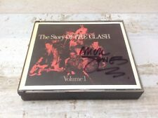 THE CLASH The Story Of The Clash Volume 1 SIGNED MJ 1988 Fat Box 2CD Sex Pistols
