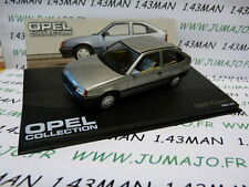 voiture 1/43 IXO eagle moss OPEL collection n°67 : KADETT E 1984/1991