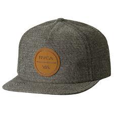 128360489e5 RVCA Coastal 5 Panel Strapback Hat Grey Herringbone