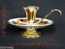 Old Country Roses portacandele, buone condizioni, MADE IN ENGLAND ROYAL ALBERT