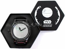NEW Nixon Star Wars DEATH STAR 51-30 Men's Watch A172SW2383 w/ Gift Box