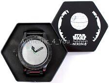 NEW Nixon Star Wars DEATH STAR 51-30 Men's Watch A172SW2383 w/ Gift Box