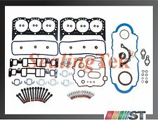 Fit 96-06 GM 4.3L V6 Vortec Engine Full Gasket Set w/ Bolts kit 4300 CPI motor