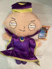 """Family Guy Stewie Griffin 15"""" Purple Wizard Plush Toy Nanco 2009"""