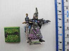 DARK ELF COMMAND CHAMPION Metal Elves Aelf Aelves Army Painted Warhammer 1990s 5