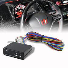 Black Adjustable VTEC RPM Controller With LCD Display For Honda / Acura VTEC
