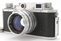 """""""Near MINT"""" CANON IIIa RANGEFINDER Film Camera w/ Serenar 50mm f1.8 Japan"""
