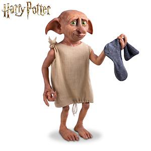 Harry Potter Dobby The House Elf Poseable Figure With Sock Ashton Drake last one