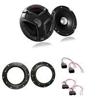 JVC 160mm Lautsprecher VW Transporter T5 230W Lautsprecherringe LSP ADAPTER Set