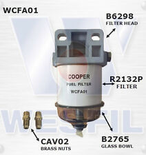 WCFA01 - Wesfil Fuel Water Seperator Unit - WITH FITTINGS!!