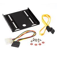 Poppstar Einbau-Kit für interne 2,5 Zoll SSD - HDD inkl. Einbaurahmen, Schrauben