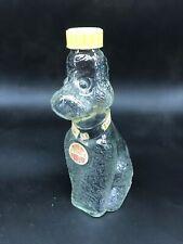 Durand Nimes 40 cl bouteille de sirop vide en verre chien caniche publicité