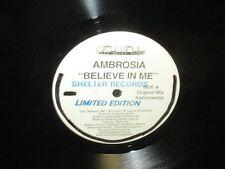 "Ambrosia ""Believe in Me"" 12"" Single"