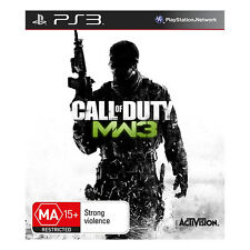 Call of Duty Modern Warfare 3 Sony PlayStation 3 game Brand New SAME DAY POSTAGE