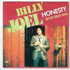 "Billy JOEL Vinyl 45T 7"" SP HONESTY - ROOT BEER RAG Trompette CBS 7150 F Rèduit"