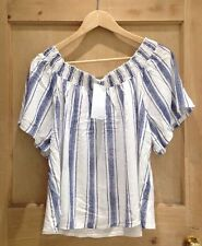 Zara Classic Singlepack Striped Tops & Shirts for Women