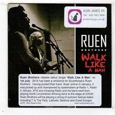 (FY121) Ruen Brothers, Walk Like A Man - 2013 DJ CD