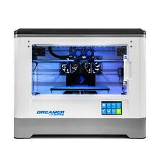 3D Printer Flashforge Dreamer 3D Printing Dual Extruder W/ Clear Door Rear Fans