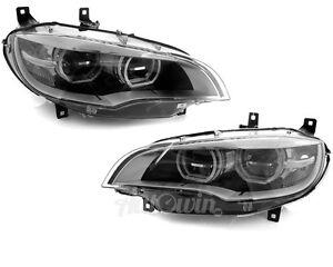 BMW X6M SERIES E71 FULL LED Adaptive HEADLIGHT RIGHT & LEFT ASSEMBLED OEM
